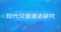 00821 现代汉语语法研究