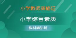 小学教师资格证-小学综合素质(精讲班)