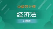 中级会计师-经济法(习题班)