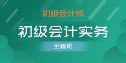 初级会计师-初级会计实务(单科全程班)