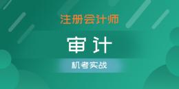 注册会计师-审计(机考实战)