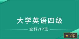 大学英语四级考试(全科VIP班)