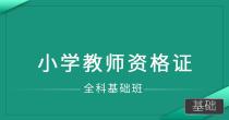 小学教师资格证(全科基础班)