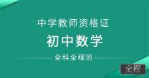 中学教师资格证-初中数学(全科全程班)