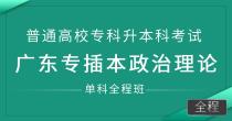 专插本政治理论(单科全程班)
