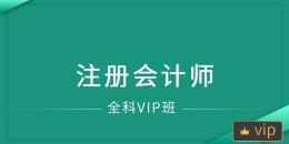 注册会计师(全科VIP班)