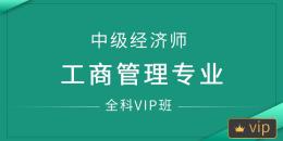 中级经济师-工商管理专业(全科VIP班)