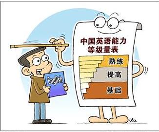 中国英语语言能力标准将与国际考试接轨