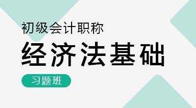 初级会计师-经济法基础(习题班)