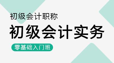 初级会计师-初级会计实务(零基础入门班)