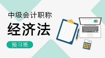 中级会计师-经济法(预习班)