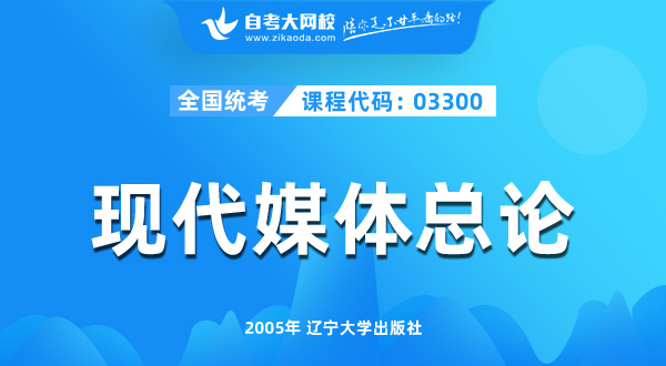 03300 现代媒体总论
