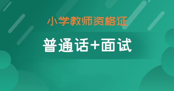 普通话+面试(小学)