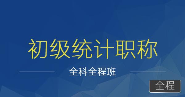 初级统计师职称-胡迪+陈龙